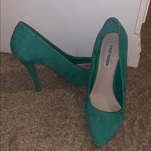 Sea foam green Steve Madden heels